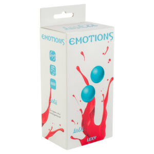 Vaginal balls without a loop Emotions Lexy Small turquoise w SexPlaza.pl