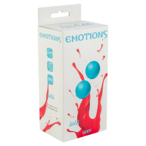 Vaginal balls without a loop Emotions Lexy Medium turquoise w SexPlaza.pl