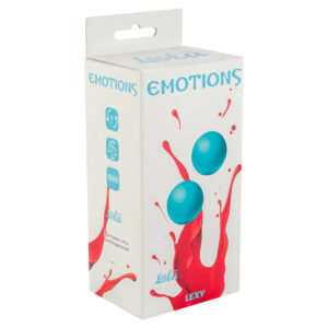 Vaginal balls without a loop Emotions Lexy Large turquoise w SexPlaza.pl