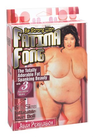 Lalka-BE STRONG WITH FATIMA FONG w SexPlaza.pl